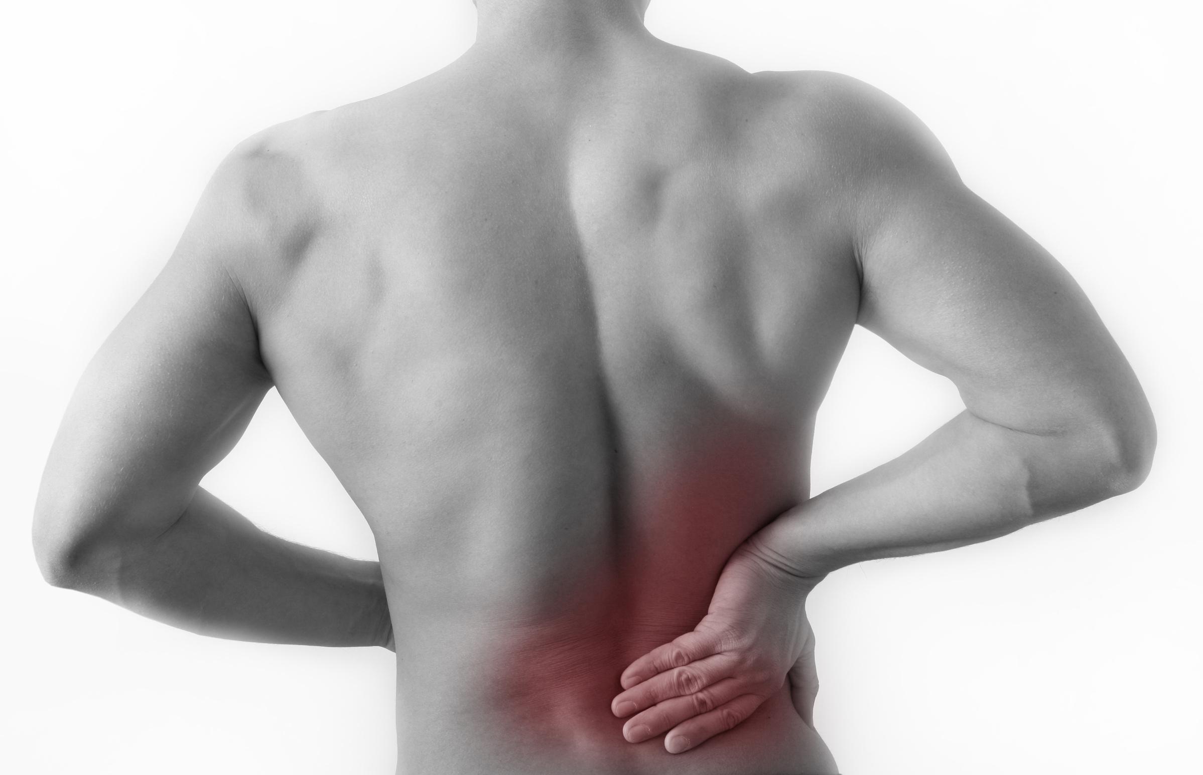 lage rugpijn spierpijn